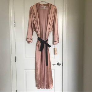 Vintage Blush Robe